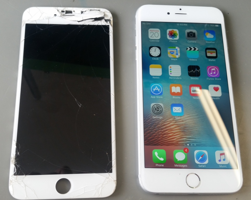 Before and After iPhone Repair Pensacola